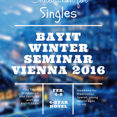 singles week Vienna - winter 2016