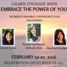 Women's Shabbat Experience 2016 in Overland Park, Kansas.