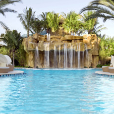 Passover 2016 with Lasko at Turnberry Isle Miami _ waterfall