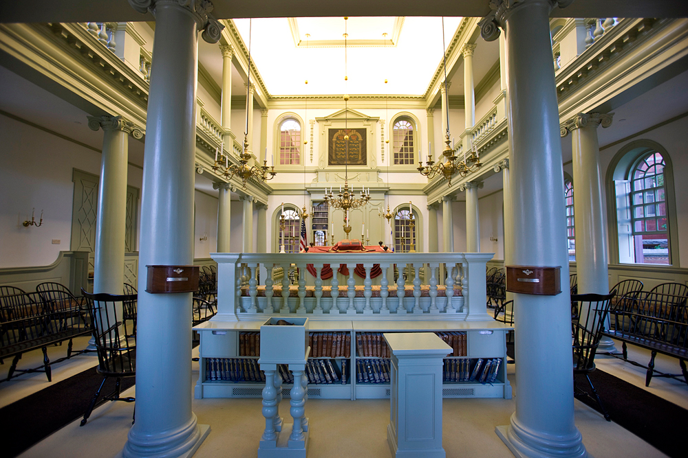 Touro Synagogue Main Sanctuary