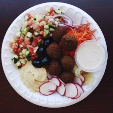 World of Falafel Platter