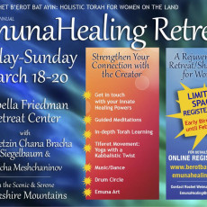 emunah healing retreat - Jewish Yoga