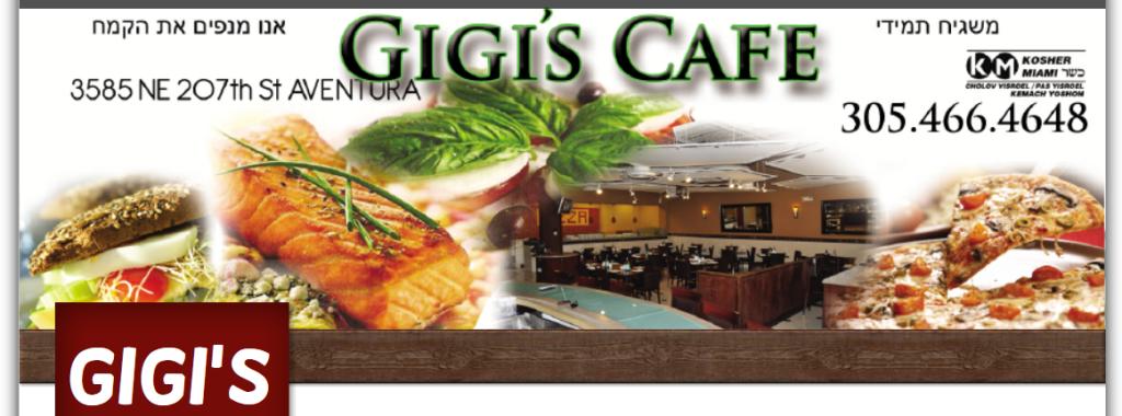Visit The Kosher Listing For Gigi S Cafe Restaurant In Aventura