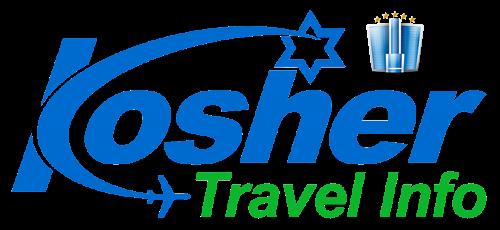 kosher travel logo with hotel